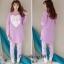 เสื้อผ้าเกาหลี พร้อมส่ง ชุดนอนเสื้อกันหนาว thumbnail 5