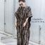 เดรสเกาหลี พร้อมส่ง Maxi dress แขนตุ๊กตา thumbnail 4