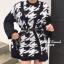 เสื้อผ้าเกาหลี Setเสื้อคลุมลายชิโนริ thumbnail 4