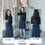 เสื้อผ้าเกาหลี set เสื้อและเดรสยีนส์ thumbnail 3