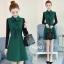 เดรสเกาหลี พร้อมส่ง เดรสทรงสวย ผ้าสำลีแบบนิ่ม thumbnail 12