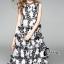 พร้อมส่ง Maxi dress ลูกไม้ 5 ชั้น thumbnail 5