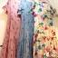 ชุดเดรสเกาหลี พร้อมส่ง Maxi Dress ทรงปล่อย thumbnail 7