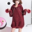 เสื้อเกาหลี พร้อมส่ง เสื้อกันหนาว ผ้าวิ้ง thumbnail 8