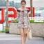 เสื้อผ้าเกาหลี พร้อมส่ง เพลย์สูทเปิดไหล่ thumbnail 1