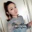 ชุดเดรสเกาหลี พร้อมส่ง MINI Dress คอเต่า thumbnail 3