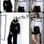เสื้อเกาหลี พร้อมส่ง เสื้อเชิ้ตตคอปก โชว์ไหล่ thumbnail 15