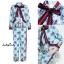 เสื้อผ้าเกาหลี พร้อมส่ง เสื้อกับกางเกง เชือกผูกเป็นโบตรงคอ thumbnail 6