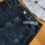 เสื้อผ้าเกาหลี พร้อมส่ง เสื้อเชิ้ตลายทางปักลายดอกไม้ thumbnail 10