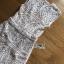 พร้อมส่ง เดรสผ้าลูกไม้สีขาวพร้อมซับในสีเนื้อ thumbnail 10