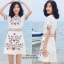 เดรสเกาหลี พร้อมส่ง Maxi Dress เดรสเกาหลี งานปัก thumbnail 4