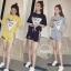 เสื้อผ้าเกาหลี พร้อมส่ง เซ็ท 2 ชิ้นสุดคุ้ม thumbnail 1