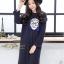 เดรสเกาหลี พร้อมส่ง Dress ทรงใหญ่ ใส่สบาย thumbnail 4