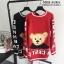 เสื้อเกาหลี ไหมพรม ลายหมี พร้อมส่ง thumbnail 9