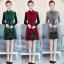 เดรสเกาหลี พร้อมส่ง เดรสทรงสวย ผ้าสำลีแบบนิ่ม thumbnail 1