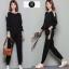 เสื้อผ้าเกาหลี พร้อมส่ง ชุดเซ็ต2ชิ้น เสื้อ+กางเกง thumbnail 4