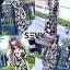 ชุดเดรสเกาหลี พร้อมส่ง Maxi dress ไขว้ด้านหน้า thumbnail 5