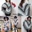 เสื้อเกาหลี พร้อมส่ง เสื้อโค้ทกันหนาว โบฮีเมี่ยน thumbnail 4