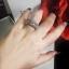 พร้อมส่ง แหวนเพชรงานเพชร CZ แท้ แหวนคู่ thumbnail 4