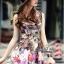 พร้อมส่ง เดรส Korea Style ลายผ้าสวย thumbnail 5