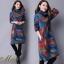 เดรสเกาหลี พร้อมส่ง Dress คอเต่า แขนยาว thumbnail 6