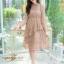 ชุดเดรสลูกไม้ พร้อมส่ง Lace Dress ทรงบาน thumbnail 14