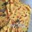 พร้อมส่ง จั้มสูทพิมพ์ลายดอกไม้สีเหลืองคัทเอาท์เอว thumbnail 14