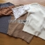 พร้อมส่ง สเวตเตอร์ผ้าถักนิตประดับผ้าลูกไม้ thumbnail 17