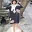 เดรสเกาหลี พร้อมส่ง เดรสทรงคอเต่าเนื้อผ้านิ่ม thumbnail 2