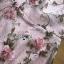 พร้อมส่ง เดรสผ้าทูลเลปักดอกไม้กุหลาบสีชมพู thumbnail 11