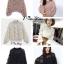 เสื้อเกาหลี แขนยาวพองๆ คอเต่า พร้อมส่ง thumbnail 4