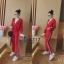 เสื้อผ้าเกาหลี พร้อมส่ง ชุดเซ็ทเสื้อคลุม+กางเกง thumbnail 1