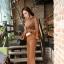 เสื้อเกาหลี พร้อมส่ง เสื้อลูกไม้ ผ้า Spandex thumbnail 4