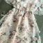 พร้อมส่ง Mini Dress สั้นลายดอกไม้ thumbnail 9