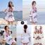 เดรสเกาหลี พร้อมส่ง Mini dress งานปักสไตล์โบฮีเมียน thumbnail 7