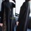 ชุดเดรสเกาหลี Dress คอปีน แขนยาว thumbnail 4