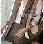 เสือผ้าแฟชันเกาหลี พร้อมส่ง เซ็ตเสื้อสูทลายสก๊อต thumbnail 7