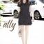 เสื้อผ้าเกาหลี พร้อม่ง เสื้อทรงยาวกับกางเกงขาสั้น thumbnail 3