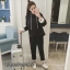 เสื้อเกาหลี แขนยาวมีฮู้ด พร้อมส่ง thumbnail 2