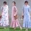 ชุดเดรสเกาหลี พร้อมส่ง Maxi Dress ทรงปล่อย thumbnail 1