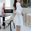 เดรสเกาหลี Set 2 ชิ้น เสื้อคลุม + Mini dress thumbnail 10