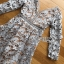 พร้อมส่ง เดรสผ้าลูกไม้สีเทาอมฟ้า thumbnail 9