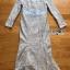พร้อมส่ง เดรสผ้าลูกไม้สีฟ้าไลแล็กทรงเมอร์เมด thumbnail 10
