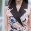 ชุดเดรสเกาหลี พร้อมส่ง เดรสพิมพ์ลายดอกทิวลิป thumbnail 5