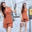 เสื้อผ้าเกาหลี พร้อมส่ง ชุดเช็ทเบลเซอร์+กางเกง thumbnail 4