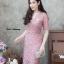 ชุดเดรสเกาหลี พร้อมส่ง Dress ลูกไม้คอวี thumbnail 10