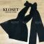 เสื้อผ้าเกาหลี พร้อมส่ง Playsuit คอวีเว้าลึก thumbnail 5