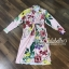 พร้อมส่ง Floral Zara dress thumbnail 5