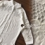 พร้อมส่ง เสื้อเชิ้ตสีขาวแต่งลูกไม้ thumbnail 4