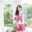 เสื้อผ้าเกาหลีพร้อมส่ง จั๊มสูทพิมพ์ลายเชิง thumbnail 5